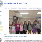 Bronxville After School Clubs Website